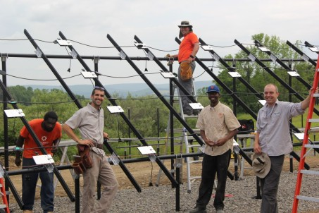 Solar crew at work