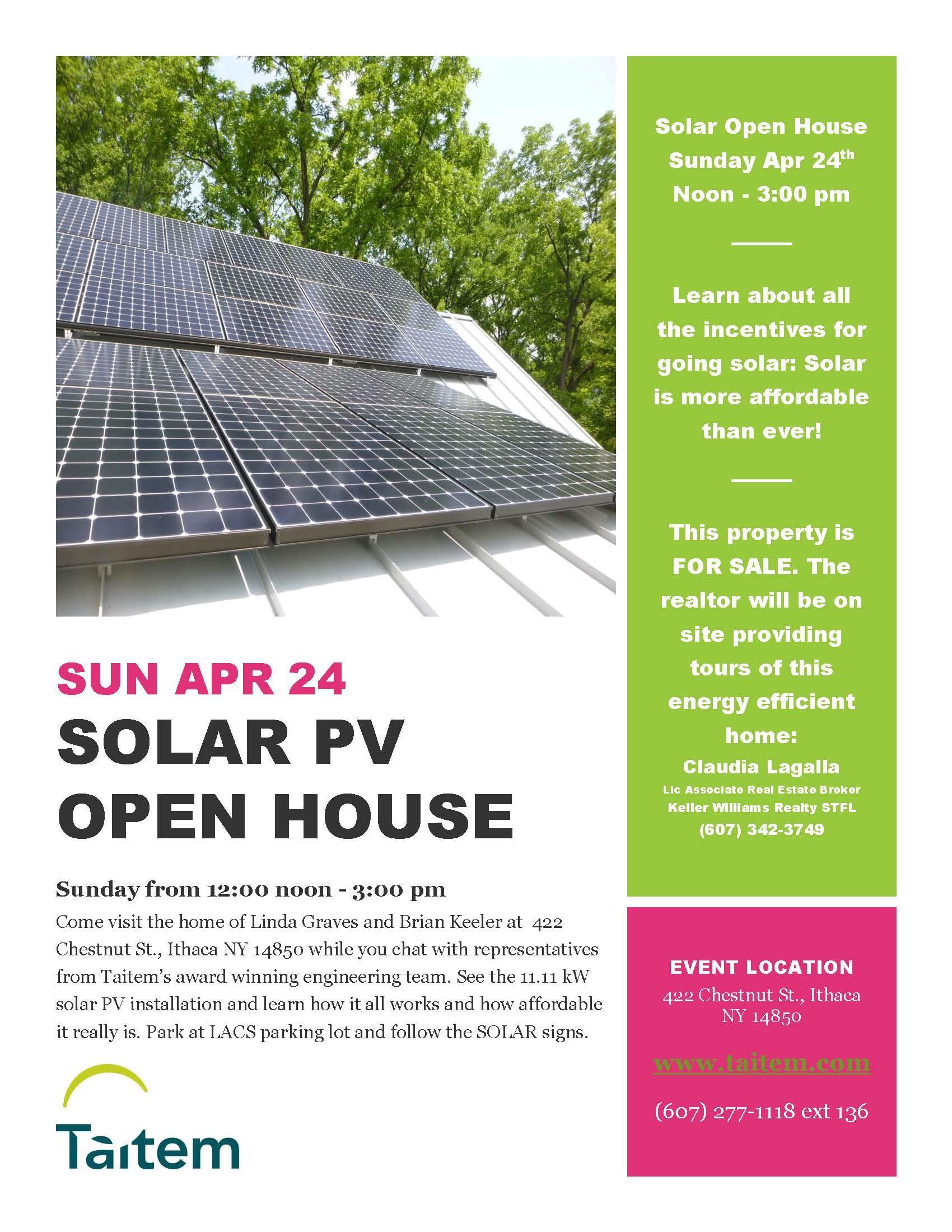Graves Solar Flyer