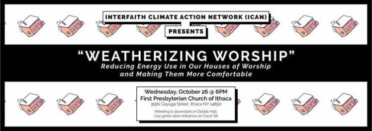 weatherizing worship